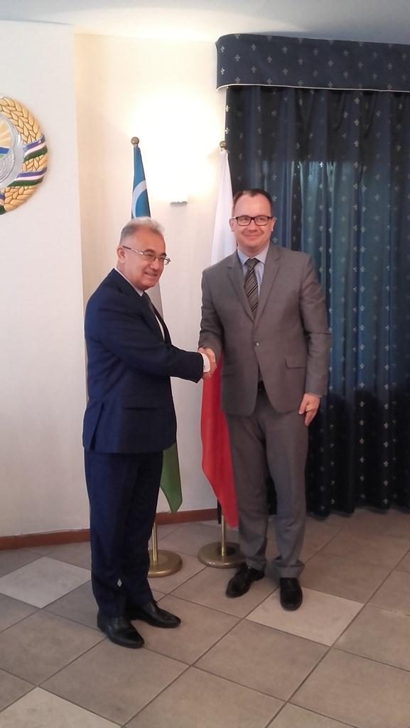 RPO z dyrektorem Narodowego Centrum Praw Człowieka w Uzbekistanie