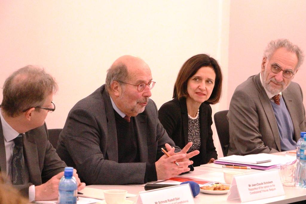 Przedstawiciele Komisji Weneckiej