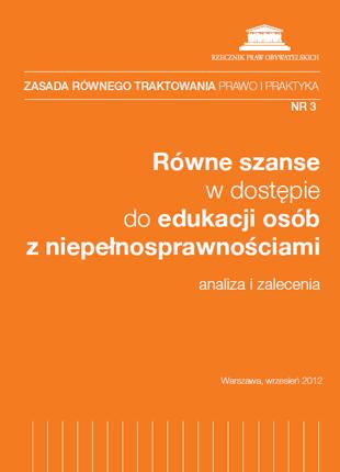 Pomarańczowa okładka z tytułem