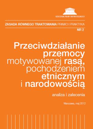 Pomarańczowa okładka z białym tytułem