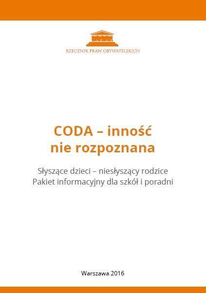 gafika: biała okładka z pomarańczowymi paskami u góry i u dołu