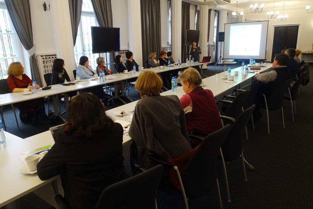 na zdjęciu uczestnicy posiedzenia Komisji Ekspertów ds. Osób Starszych