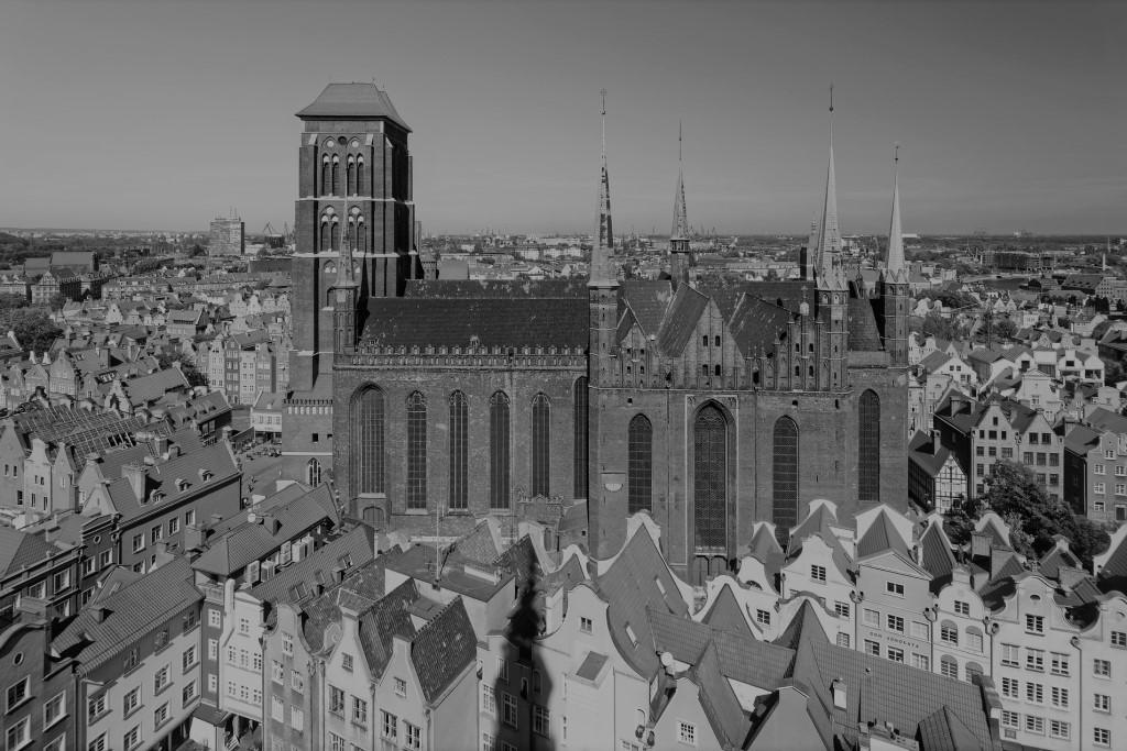 Gotycki duży kościół