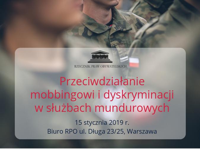 Mem - mobbing w służbach mundurowych