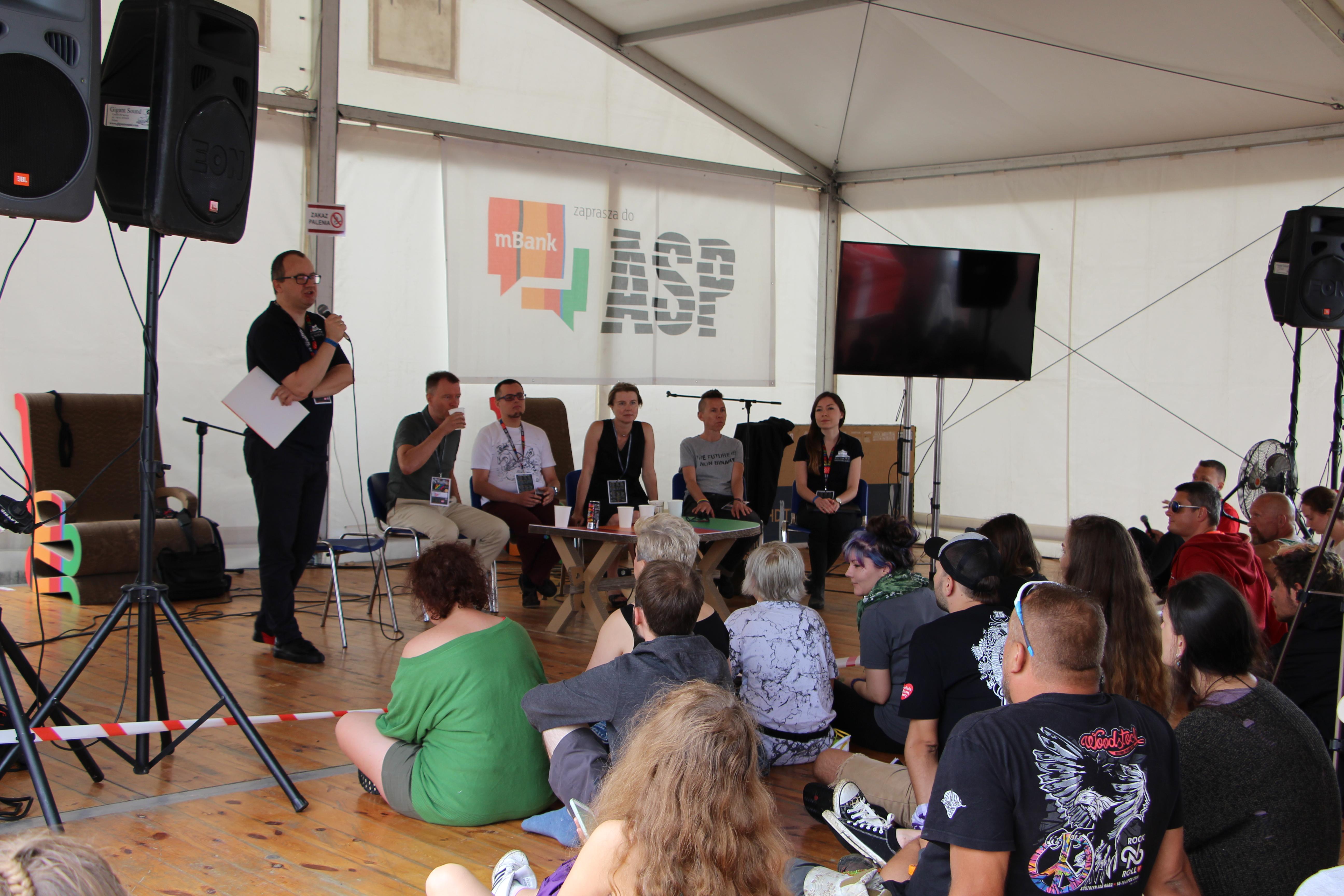 Rzecznik praw obywatelskich na festiwalu Pol'and'Rock