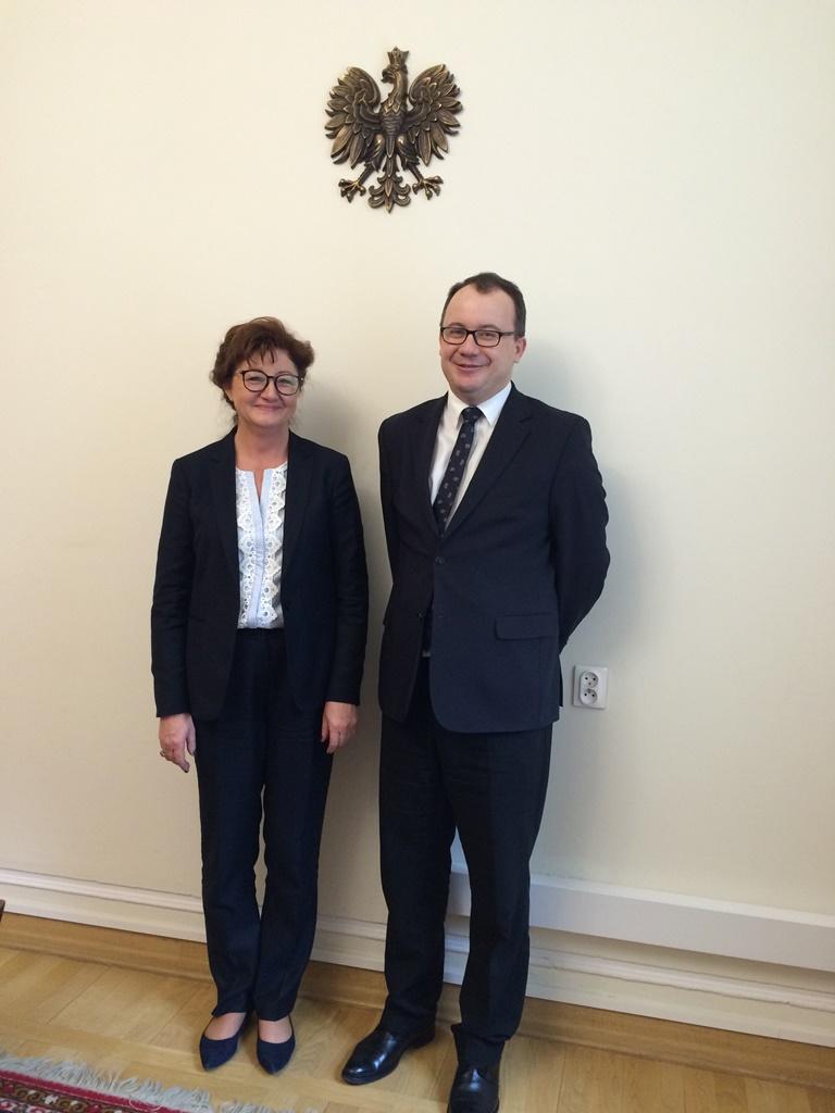 Dorota Gardias i dr Adam Bodnar