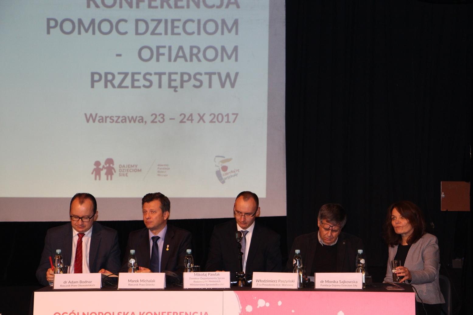 Adam Bodnar, Marek Michalak, Mikołaj Pawlak, Włodzimierz Paszyński, Monika Sajkowska