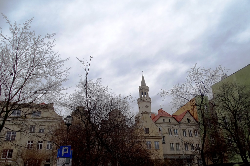 Miasto późną zimą