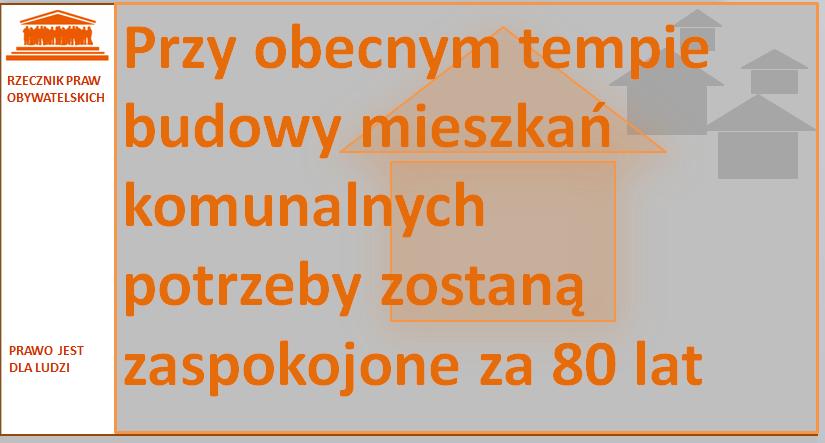 Grafika: pomarańczowy napis na szarym tle