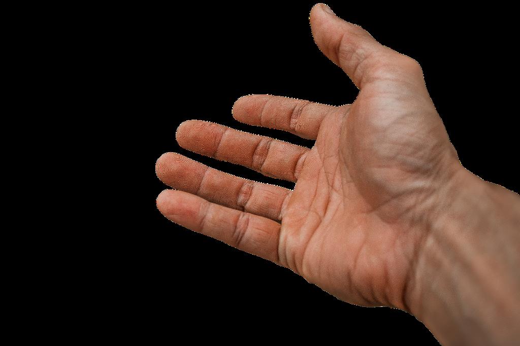 Wyciągnięta ręka