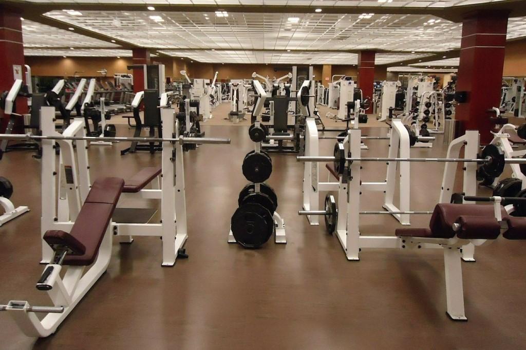 Zdjęcie sali do ćwiczeń fizycznych