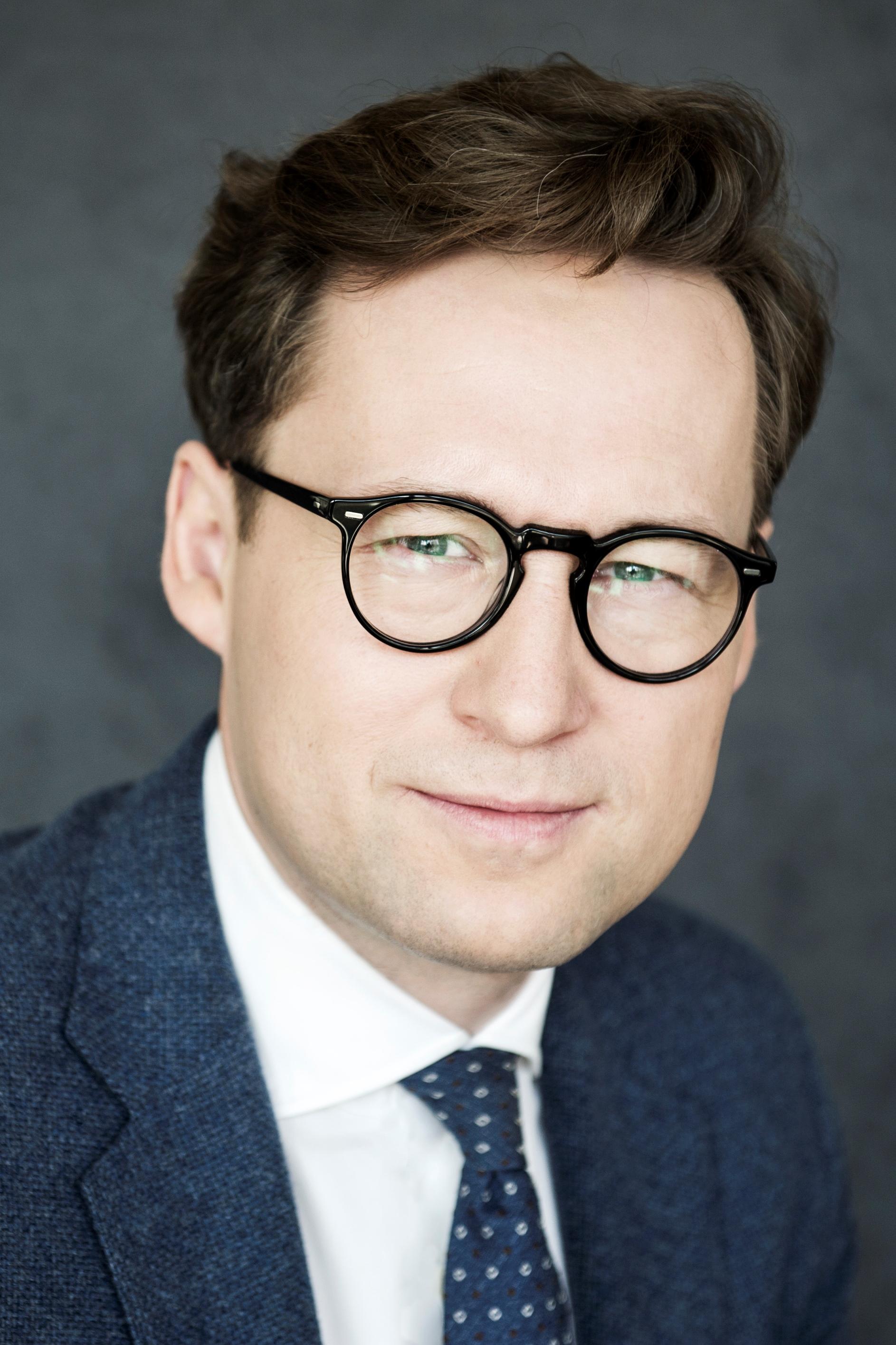 Na zdjęciu p. Maciej Taborowski