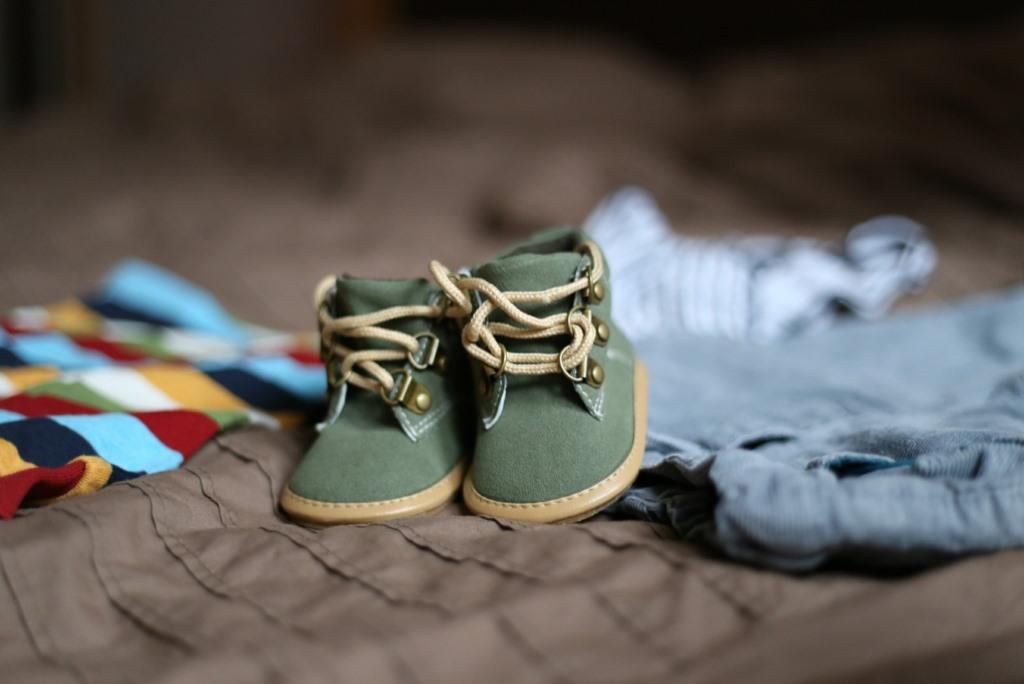 Buciki i ubranka dziecięce