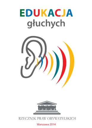 Okładka książki z symbolem ucha