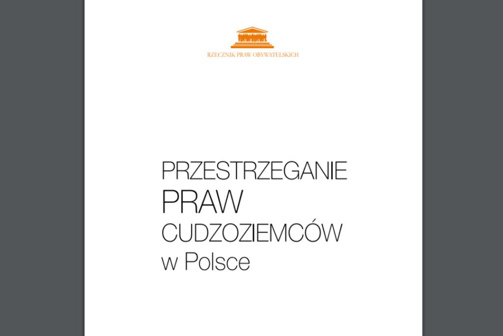 Biała okładka z czarnym tytułem i pomarańczowym logiem RPO