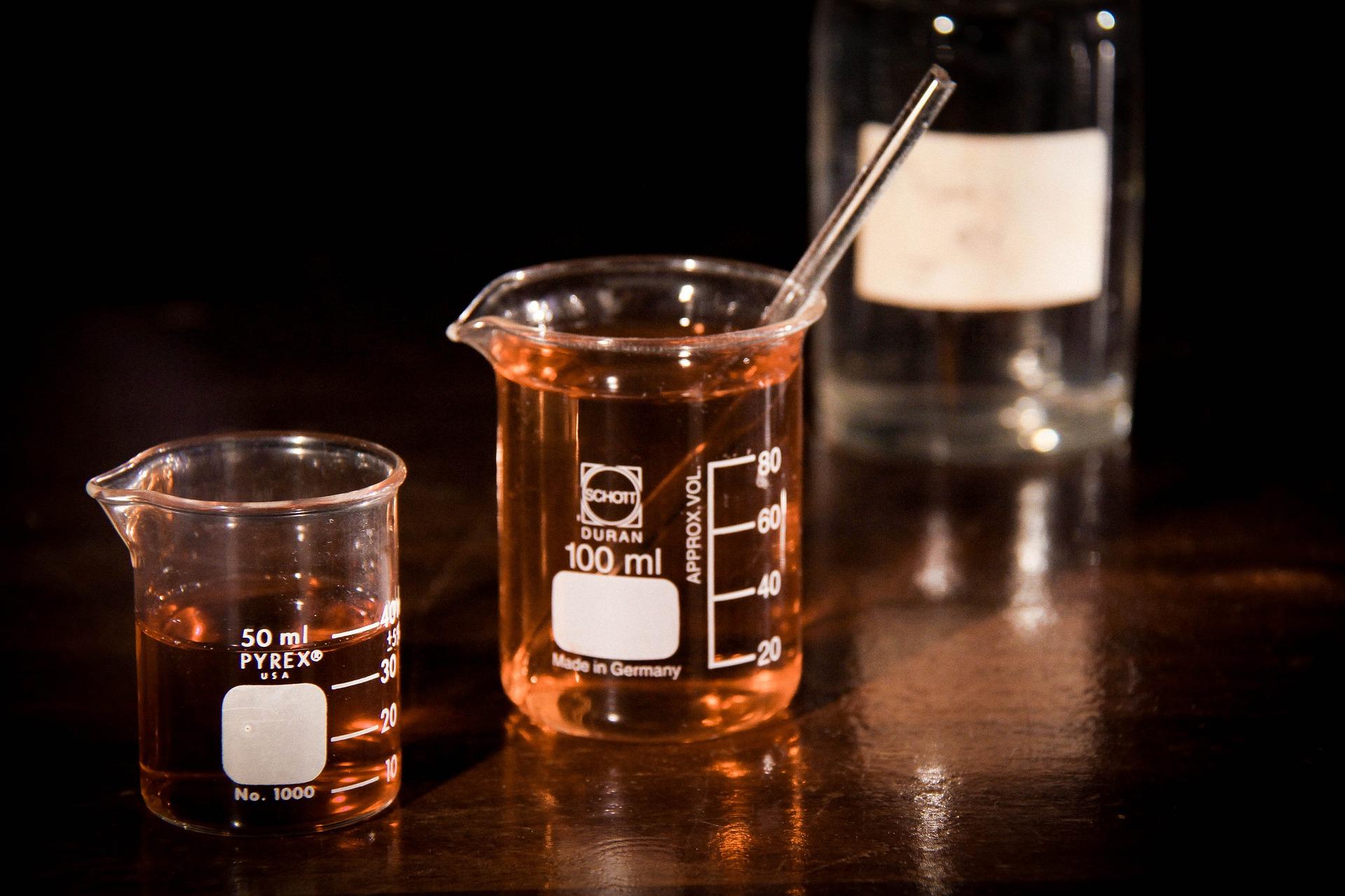 Naczynia laboratoryjne