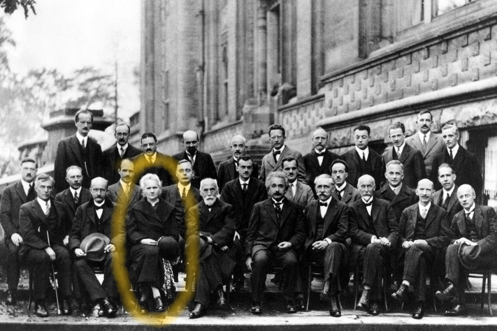 Zdjęcie grupowe z lat 20. XX w