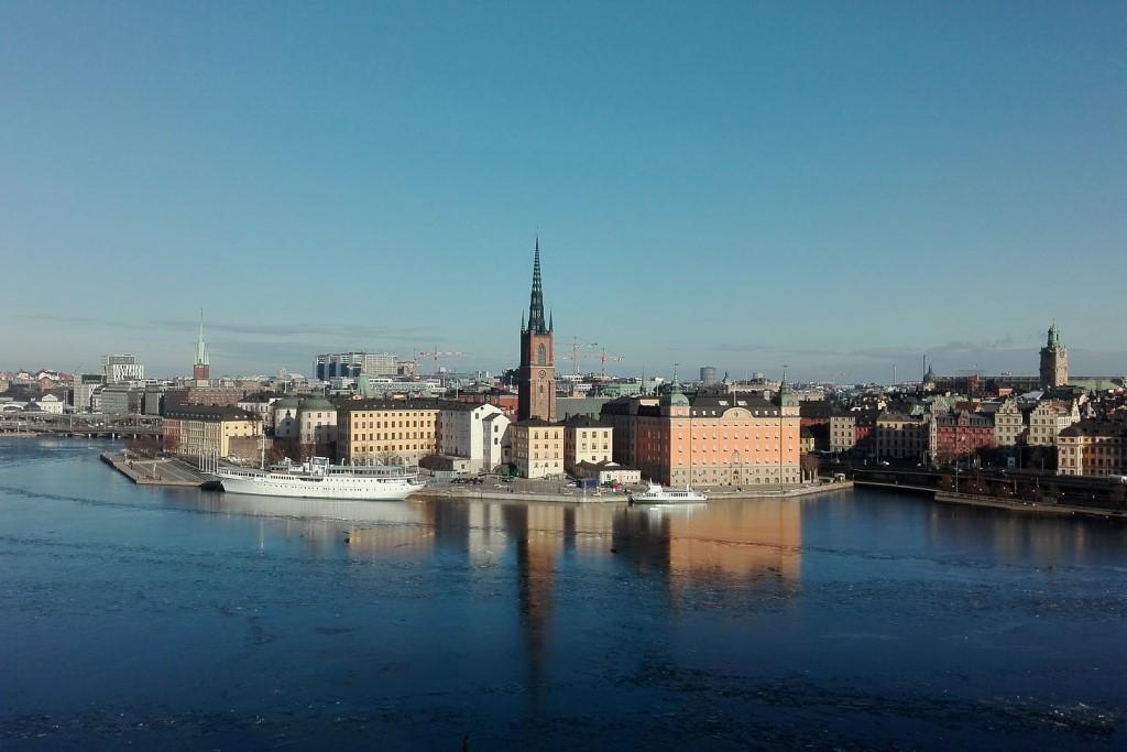 Stare miasto nad wodą