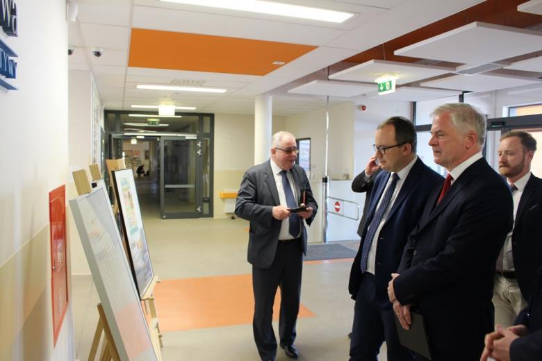 Wizyta RPO w Pozytywnej Szkole Podstawowej w Gdańsku