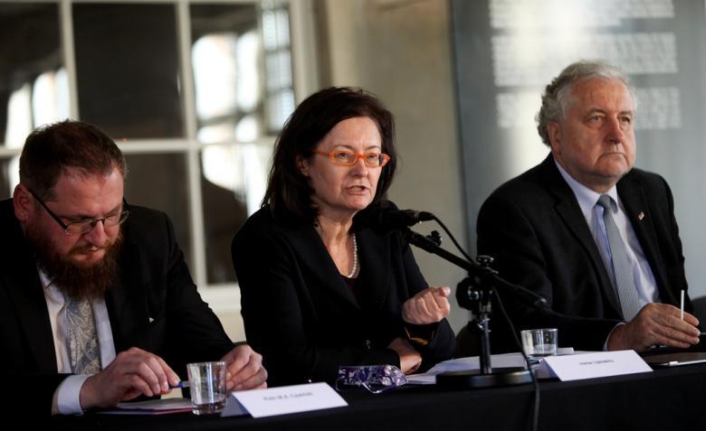 Piotr Cywiński, Irena Lipowicz and Andrzej Rzepliński