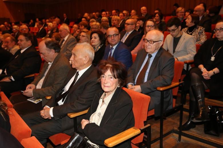 Publiczność na sali