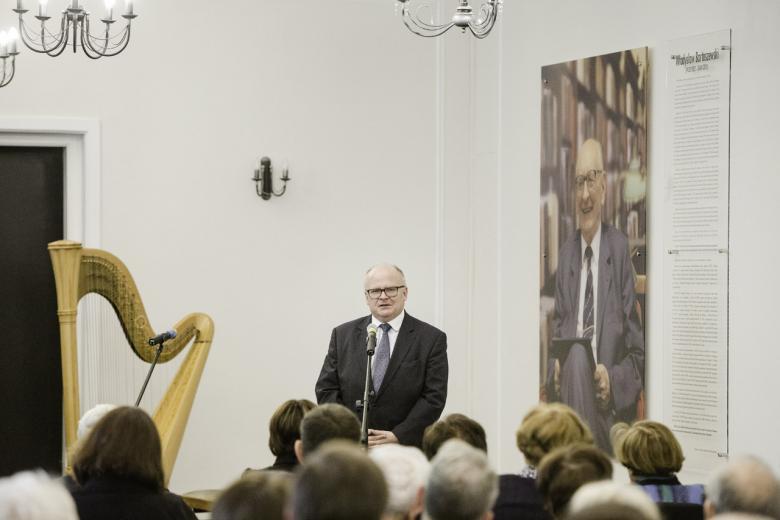 na zdjęciu Ambasador Austrii, Thomas M. Buchsbaum