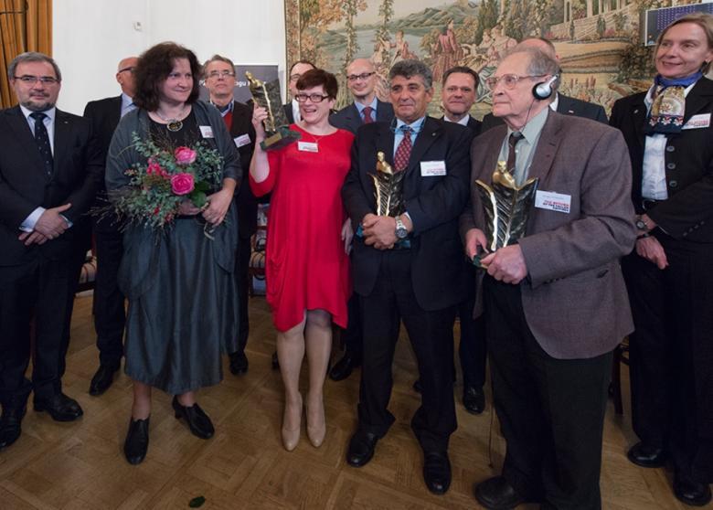 Na zdjęciu laureaci Nagrody im. Sergio Vieira de Mello, fot. Paweł Mazur