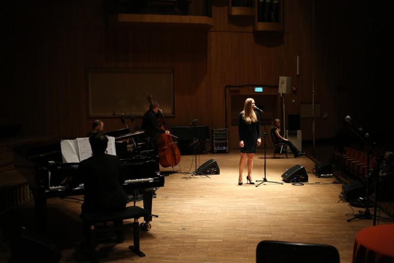 Muzycy na scenie