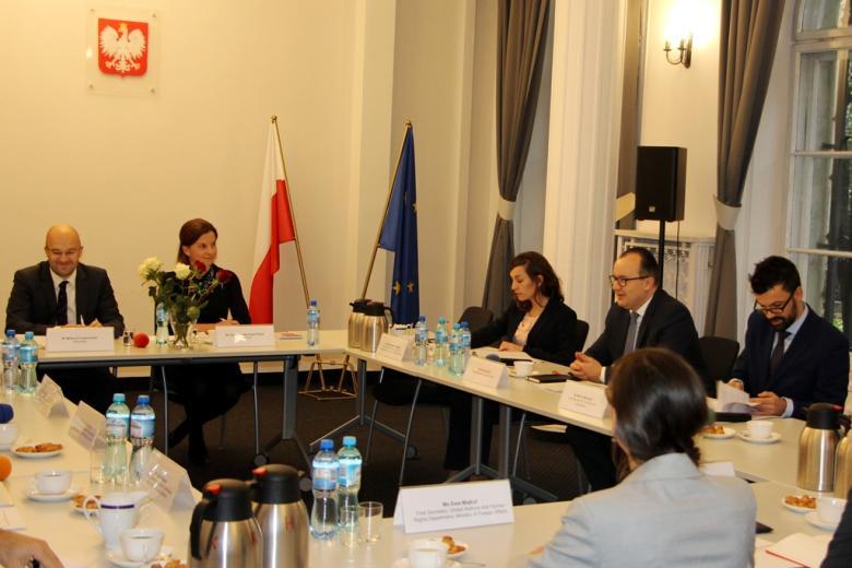 Spotkanie z przedstawicielami Komisji Weneckiej