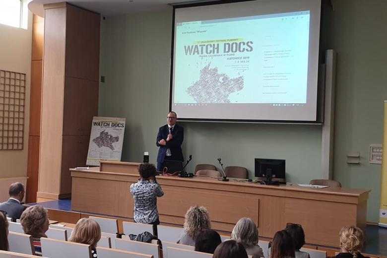 RPO Adam Bodnar na Uniwersytecie Śląskim na WATCH DOCS