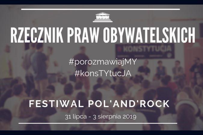 mem przedstawiający datę spotkania RPO na PolAndRock na tyle grupy ludzi