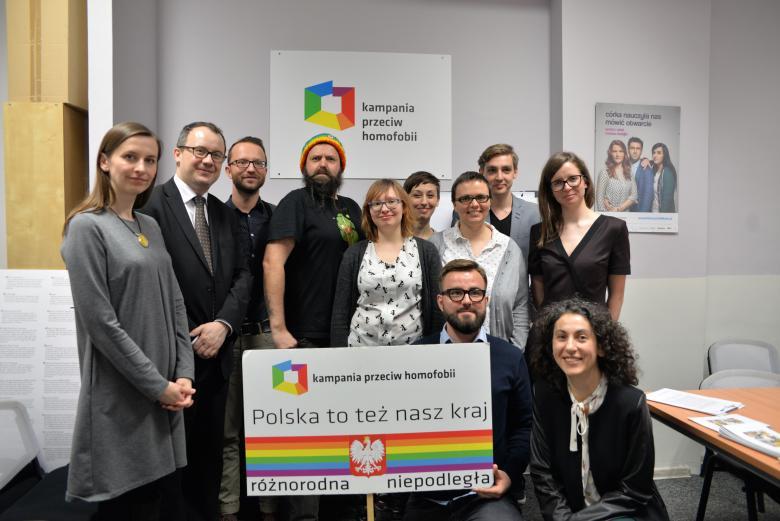 Adam Bodnar, Sylwia Spurek i przedstawiciele organizacji pozarządowych