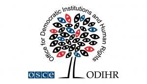 grafika przedstawia logo ODIHR