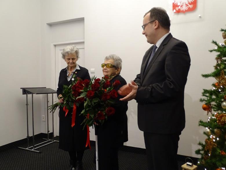 na zdjęciu dr Adam Bodnar, Halina Bortnowska i Anna Jakubowska
