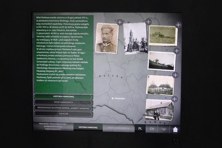 Zdjęcie ekspozycji na wystawie