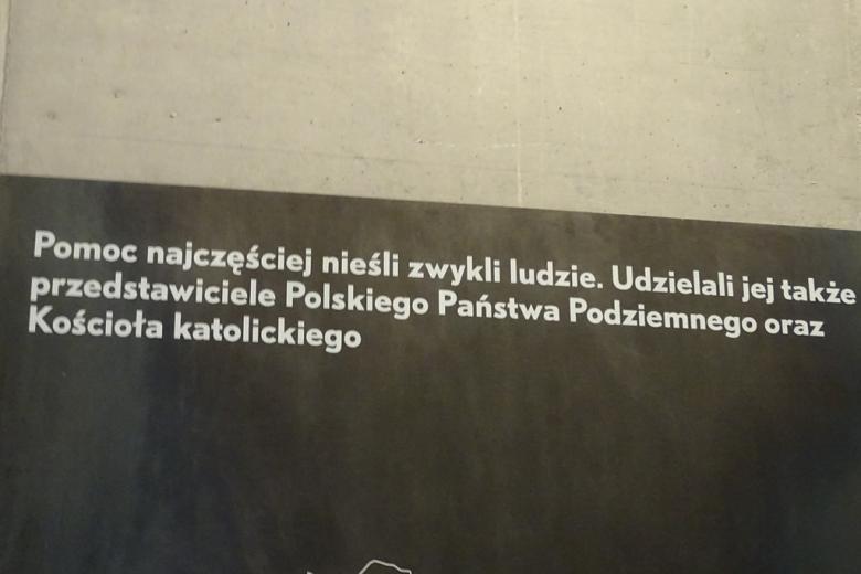 Tablica z napisem  muzeum w Markowej