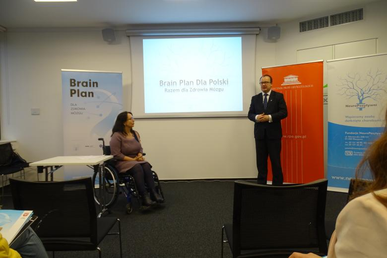 Adam Bodnar wziął udział w warsztatach organizowanych przez Fundację  NeuroPozytywni