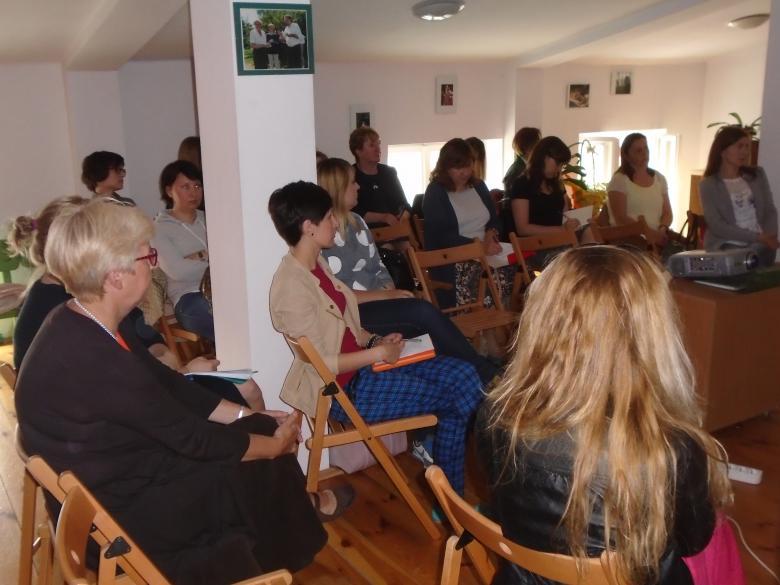 Na zdjęciu uczestnicy szkolenia