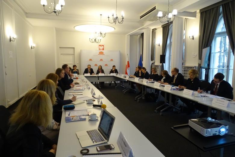 Spotkanie eksperckie poświęcone tematyce przeciwdziałania przemocy i dyskryminacji wobec osób starszych w celu przedyskutowania przygotowanych propozycji treści przepisów aktu prawa międzynarodowego dotyczącego ochrony praw osób starszych