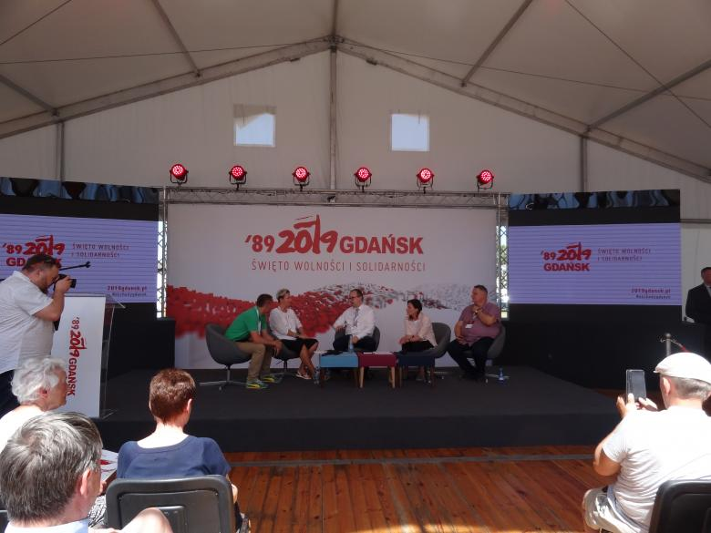 Debata nt. bezdomności w ECS w Gdańsku