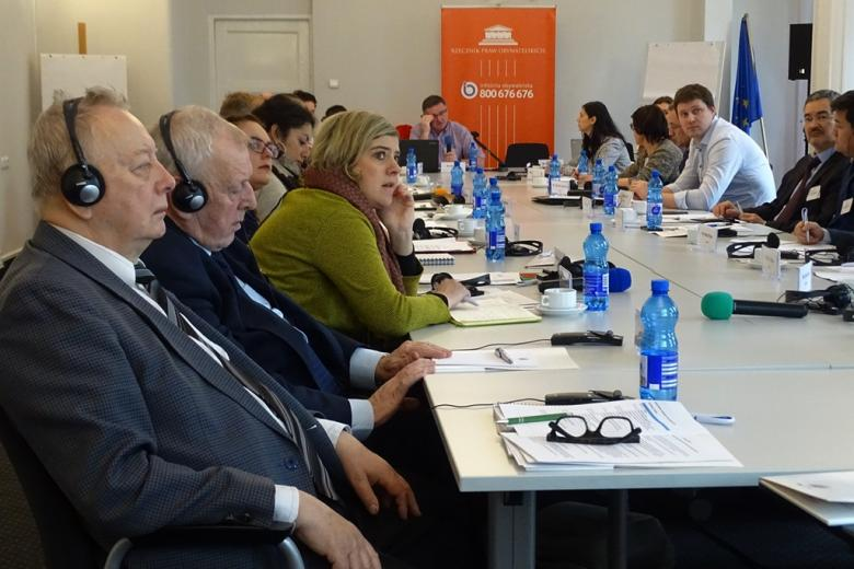 Warsztaty dla instytucji ombudsmańskich do spraw wojskowych - uczestnicy szkolenia
