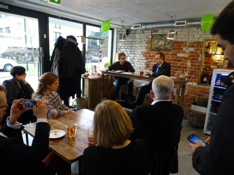 Adam Bodnar wziął udział w obchodach perskiego Nowego Roku w Brunet Kafe