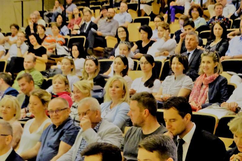 Aula pełna gości konferencji