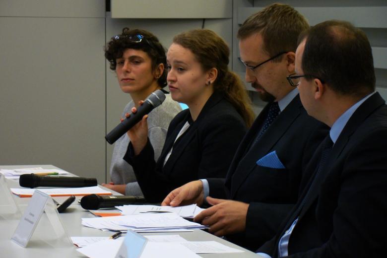 na zdjęciu uczestnicy konferencji