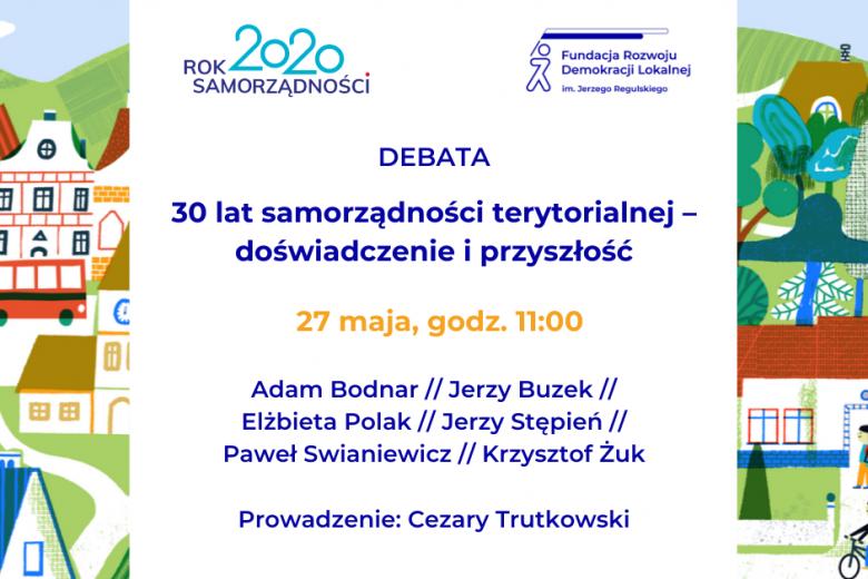 Debata o samorządzie terytorialnym 27 maja 2020 g. 11