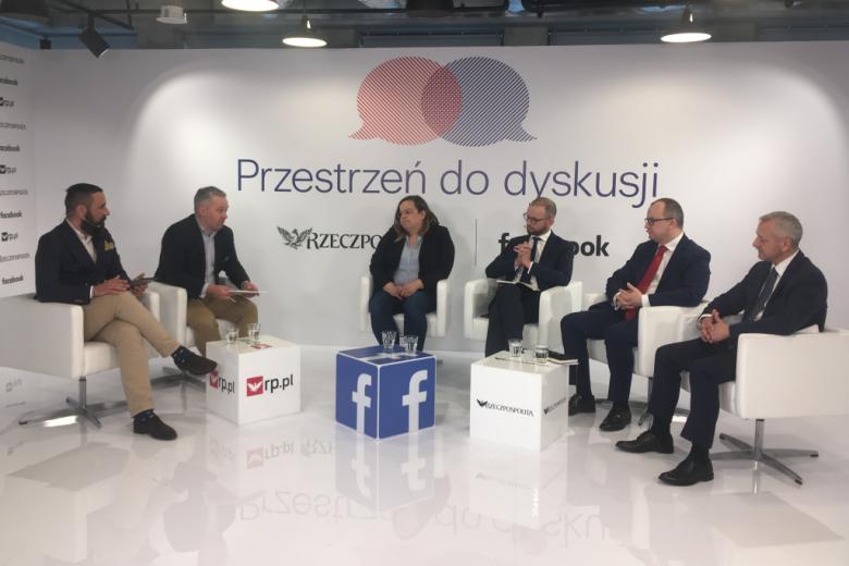 Pięciu mężczyzn i kobieta - paneliści debaty