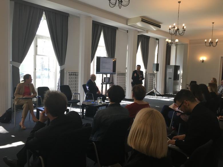 Spotkanie szkoleniowe dla tłumaczy zaangażowanych w projekt tłumaczenia orzeczeń ETPCz