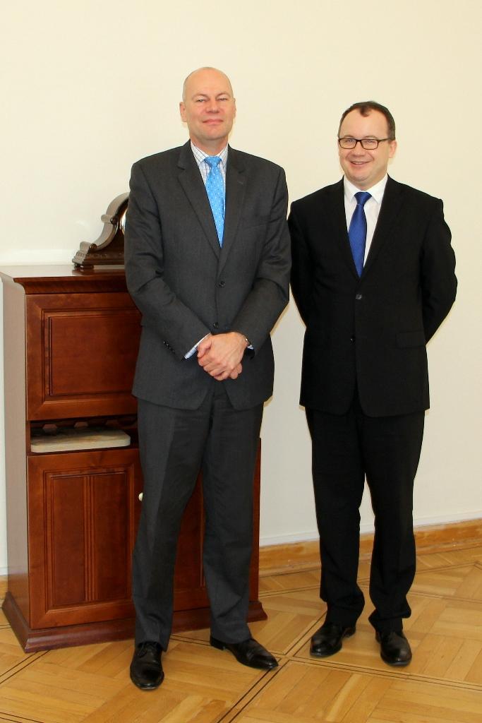 na zdjęciu Ambadaror Kanady w RP oraz Rzecznik Praw Obywatelskich