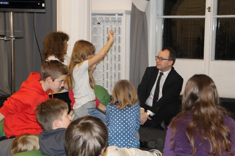 na zdjęciu uczestnicy spotkania