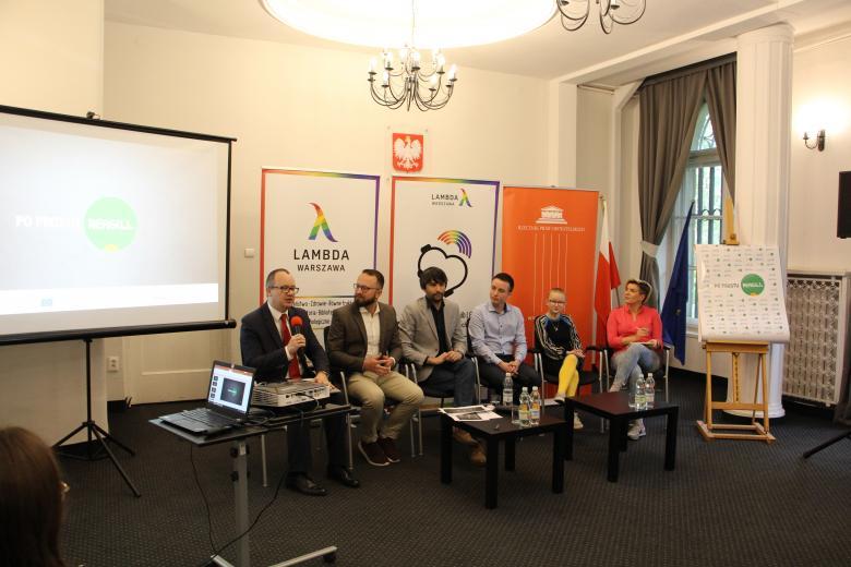 """Konferencja prasowa w BRPO nt. kampanii społecznej """"Po prostu reaguj"""""""